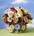 Spring Garden Basket Bouquet for easter sunday
